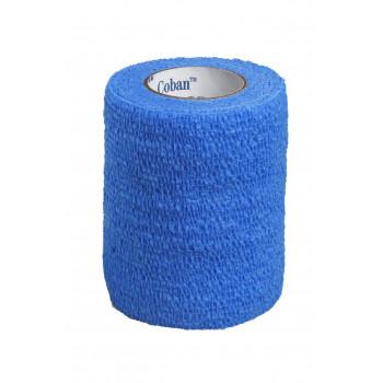 Obinadlo Coban samofixační 7,5cm červené/modré