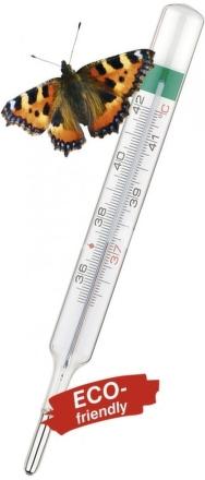 Teploměr skleněný bezrtuťový Classic s galiem 5 z 5 1