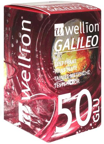 PROUŽKY DIAGNOSTICKÉ WELLION GALILEO, 50ks