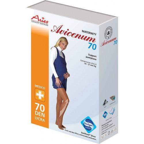 Avicenum těhotenské punčochové kalhoty 70DEN