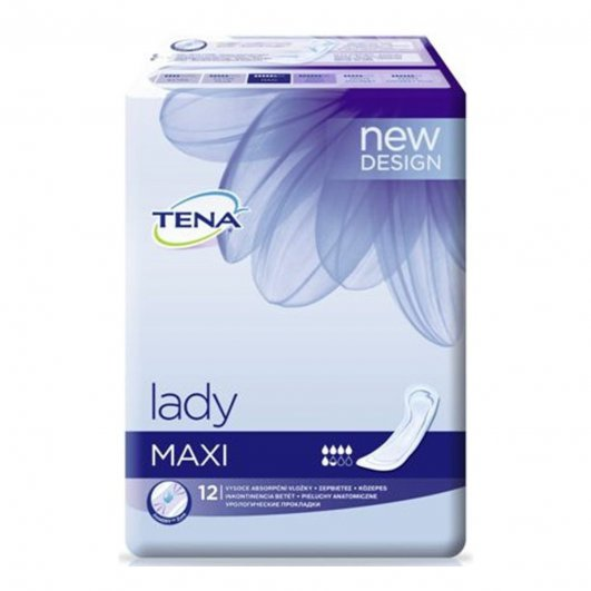 Vložky pro inkontinenci Tena Lady MAXI, 12ks