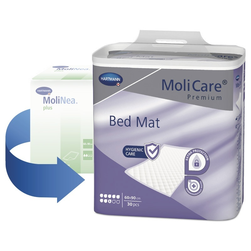 MoliCare Bed Mat 8 kapek