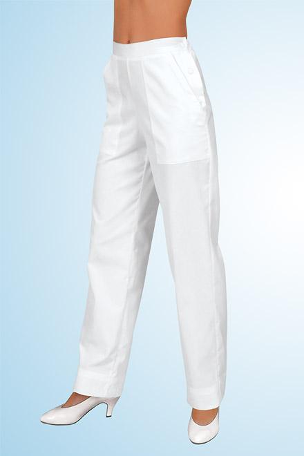 Kalhoty bílé dámské