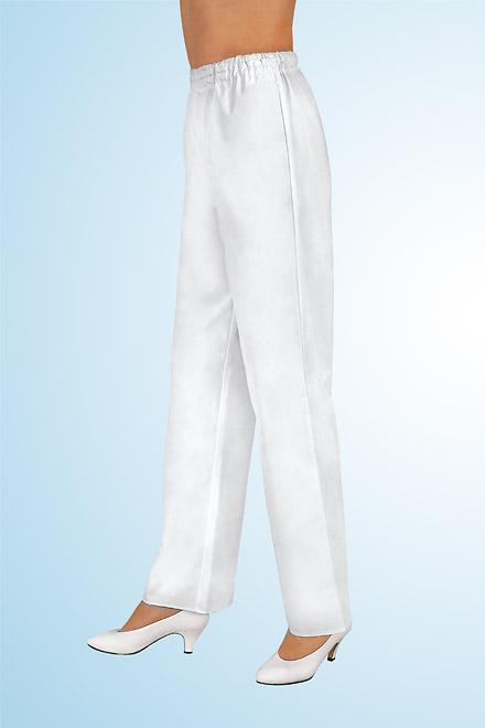 Kalhoty bílé lékařské UNI