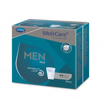 MoliCare Men 2 kapky inkontinenční vložky 14 ks