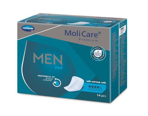MoliCare Men 4 kapky inkontinenční vložky 14 ks
