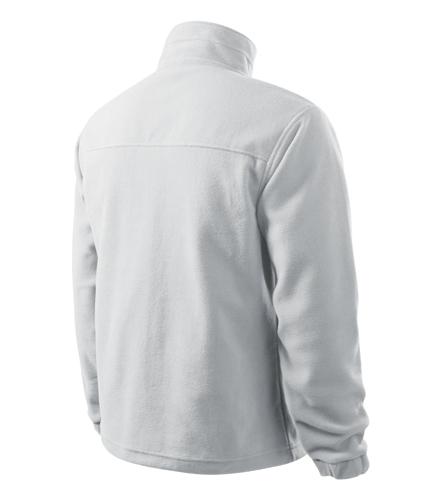 Mikina fleecová bílá