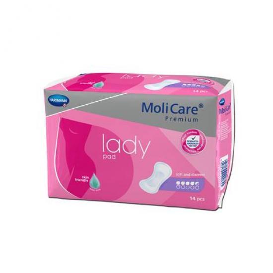 MoliCare Lady 4,5 kapky dámské vložky 14 ks