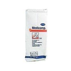 Medicomp nesterilní 5 x 5 cm 100 ks