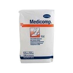 Medicomp nesterilní 7,5 x 7,5 cm 100 ks