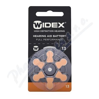 Baterie do naslouchadel Widex 13, 6ks