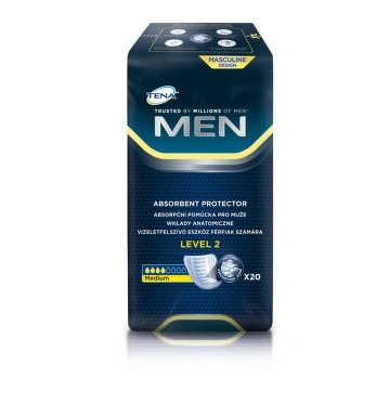 TENA Men Level 2 - Inkontinenční vložky pro muže (20 ks)