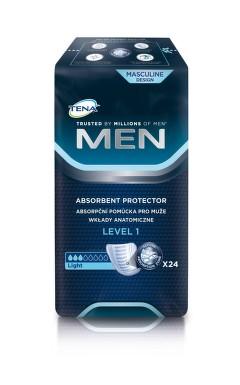 TENA Men Level 1 - Inkontinenční vložky pro muže (24 ks)
