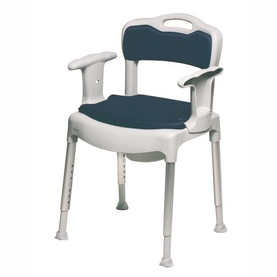Toaletní a sprchová židle Etac SWIFT KOMMOD